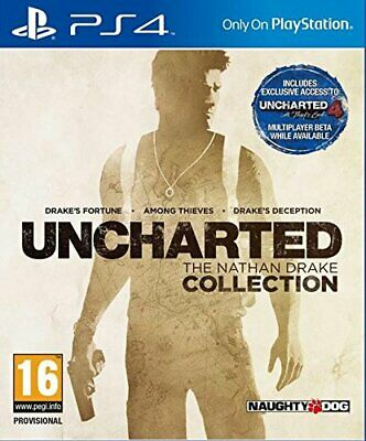 PS4 Game - UNCHARTED - THE NATHAN DRAKE COLLECTION - Playstation 4