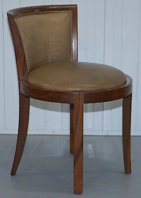 """Rrp £700 Starbay """"the Living Legend"""" Greta Ash Dressing Table Chair Leather"""