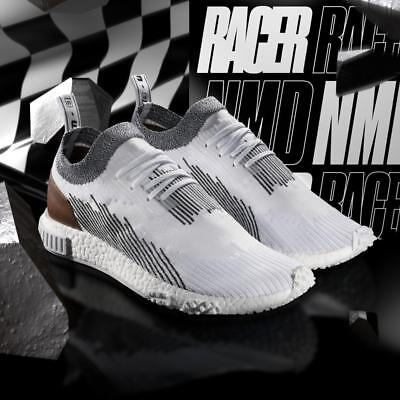 save off da084 f7533 New Adidas NMD Racer Running Shoes Monaco Whitetaker Car Club White-Black  AC8233
