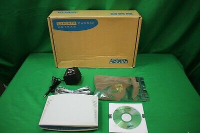 Adtran T1 CSU ACE, 3rd Gen 1203022L1 w/ Power Supply and Box