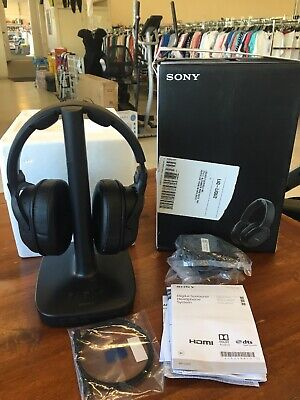 Sony WH-L600 Headband Wireless Headphones - Black