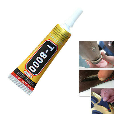 15ml Glue T-8000 Clear Epoxy Resin Sealant Craft Industrial Glass Jewelry GNCA