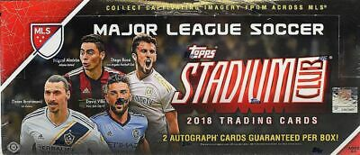 100 Cards 1-100 Boxed 2018 Topps Stadium Club MLS Soccer Complete Base Set