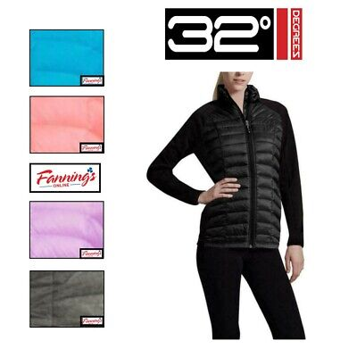 3a04c0200 32 DEGREES WOMEN'S Lightweight Down Soft Shell Jacket White and ...