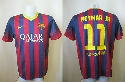 426080e751f FC Barcelona #11 Neymar JR 2013/2014 home Sz L Nike Barca football shirt