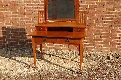 Edwardian dressing table by HEALS of London,mahogany,bedroom,home,house,vintage