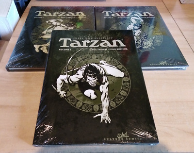 TARZAN collection soleil Tome 1.2.3 grd format 35x26 / neuf sous cello