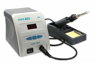Quick 236 Lead-Free Anti-static Soldering Iron Station 90W 220V for Phone Repair
