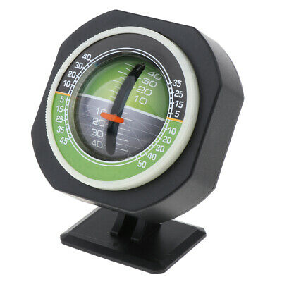 Multifunction Car Compass Inclinometer Angle Slope Level Gradient Balancer