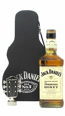 Jack Daniels - Tennessee Honey Guitar Case (Hard To Find Whisky Edition)  Whisky