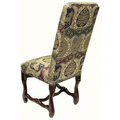 Design Toscano Chateau DuMonde Coat of Arms Dining Side Chair