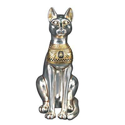 Design Toscano Egyptian Cat Goddess Bastet Statue: Large