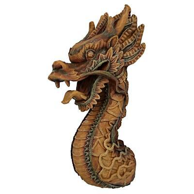 Design Toscano The Fire Dragon Wall Sculpture