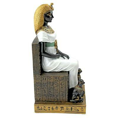 Design Toscano Queen Cleopatra on the Throne of Egypt Statue