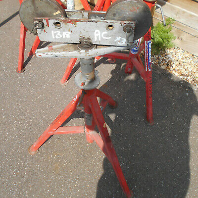 Ridgid Vj 99 Pipe Support Stand Pipe Support Stand Used Good Condition