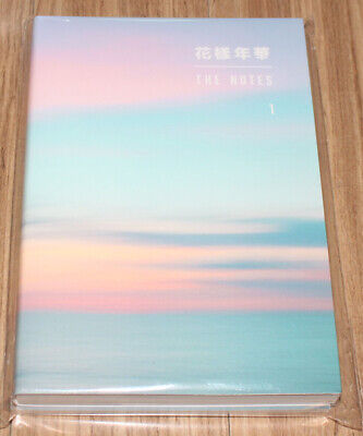BTS BANGTAN BOYS 花樣年華 The Most Beautiful Moment In Life THE NOTES 1 KOREAN Ver.