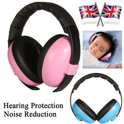 BABY Childs Ear Defenders Earmuffs Protection Boys Girls Kids Sleep Party Gift