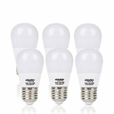 Chichinlighting 6 Pack Low Voltage LED Light Bulbs 12v 5w E26-40w Equivalent -