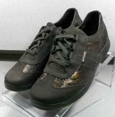 a25e83666cc LASER DARK BROWN LMPF60 Women's Shoes Size 6.5 (EUR 4) Leather Lace Up  Mephisto