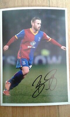 Barry Bannan Crystal Palace Hand Signed 7x5 bordered photo Autograph