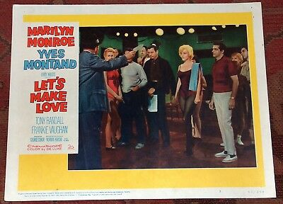 Marilyn Monroe Lobby Card  Let's Make Love 1960 Original Yves Montand #3