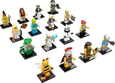 Lego Collectible Series 10 Minifigures Complete Set of 16! 71001!