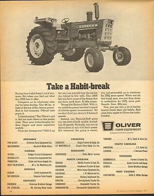 1957 PRINT AD of Oliver 60 Baler Farm Tractor - $9.99 | PicClick on