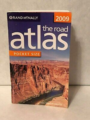 "Rand McNally 2009 The Road Atlas ""Pocket Size"" U.S./Canada/Mexico"