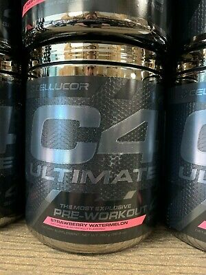 Cellucor C4 Ultimate 40 Servings Fast Free Shipping New/Sealed Straw Watermelon