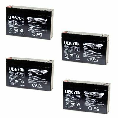 6v 7Ah Battery for Kids Ride on Cars /& Motorcycles toy 6 volt