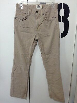 Boys Urban Pipeline Khaki Straight Leg Pants Size 16