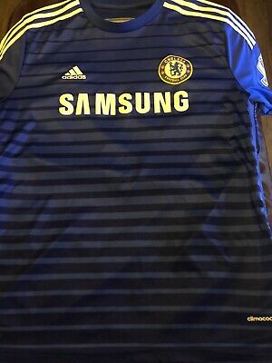 new products aba38 08b35 EDEN HAZARD #10 FC adidas football jersey soccer CHELSEA ...