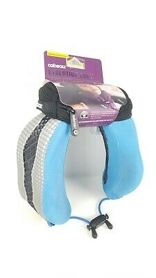 Cabeau Evolution Cool Memory Foam Travel Pillow  Glacier Blue Soft New