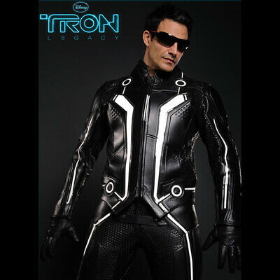 UD REPLICAS TRON Legacy Sam Flynn Motorcycle Jacket size Small NEW