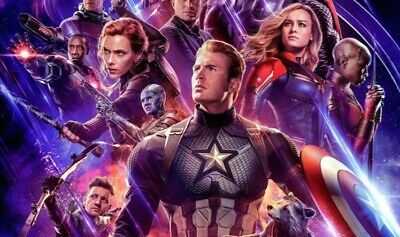 Avengers: Endgame Friday 4/26 IMAX 11AM at New Roc Theater 7 movie tickets.
