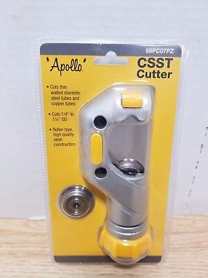 """Apollo CSST Tubing Cutter 1/4"""" to 1-1/4"""" For Copper Stainless Steel 69PC07PZ New"""