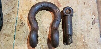 "Crosby-Laughlin Swl13T 13 Ton 1 1/4"" Screw Pin Anchor Shackle Usa Clevis Rig"