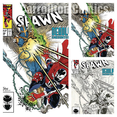 Presale Spawn #298 Homage to Spider-Man 298 releases 6//26//19
