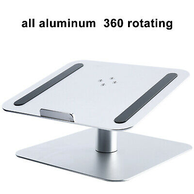 "Aluminum Laptop Holder Stand Dock Pad for MacBook & PC 17"" Tablet Notebook New"