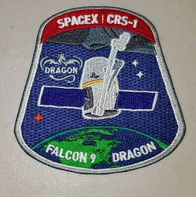 SpaceX CRS-1 Falcon 9 Dragon NASA Mission Patch