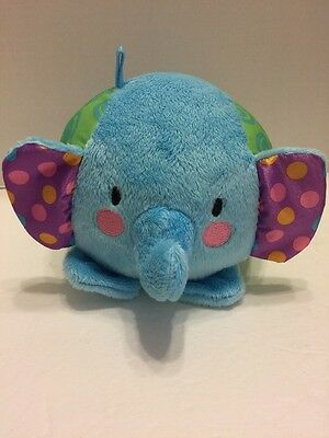Fisher Price  Elephant Plush Baby Toy Plays Peek a Boo & Rattles