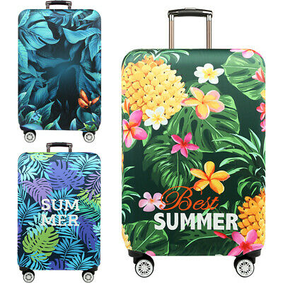 """Protective Cover Case for 18""""- 32"""" Luggage Suitcase Dustproof Elastic Printed"""