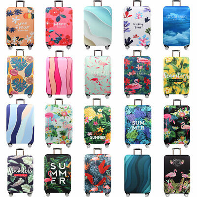 "18-32""Elastic Protective Travel Luggage Suitcase Dust-proof Cover Protector Case"