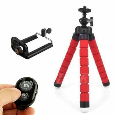 Universal Camera Tripod Stand Holder Bluetooth Remote Shutter IPhone Smartphone