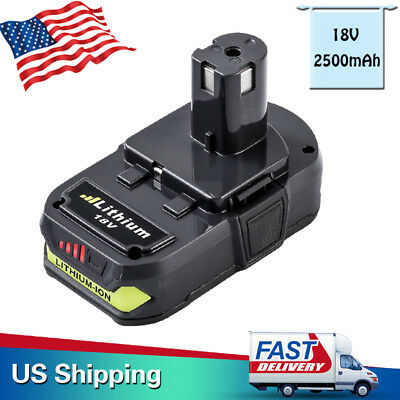New 18V 2.5Ah P102 P105 P107 P108 Lithium Replace Battery for Ryobi 18-Volt ONE+