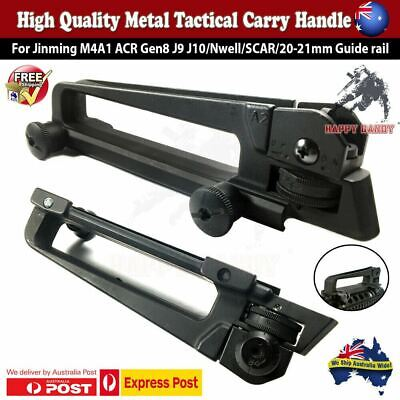 UPGRADE Metal Quick Release Carry Handle Rail Rear Sight Gen8 J9 M4A1 SCAR HK416