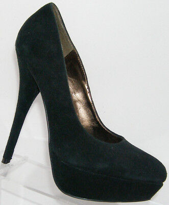 a13d56037d1 STEVE MADDEN 'DAY' Classic Black Suede Pointed Toe Slingback Pump ...