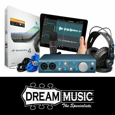 PreSonus AudioBox iTwo Recording Kit Bundle with HD7 Headphones & M7 Mic
