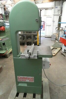 Dominion Bandsaw, Fully Refurbished, New Crompton Dc Braking, Sliding Fence, A1
