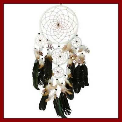 Dream Catcher Divine LARGE W Beads For Wall Decor In Bedroom HOME DECOR